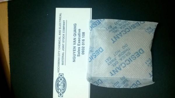 gói chống ẩm dùng bảo quản sản phẩm công nghiệp